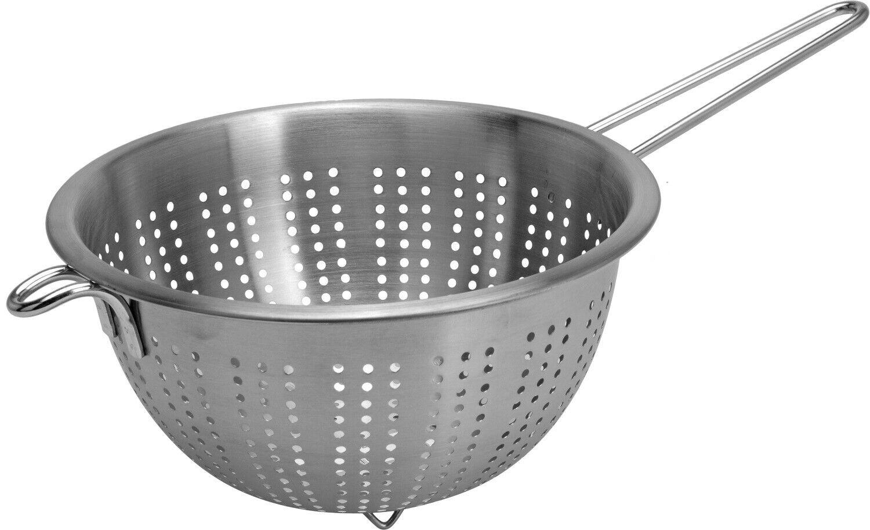 Profi Passiersieb Passierer Küchen Sieb Seiher Doppelnetz Ø 24 cm Gastlando