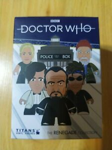 "TITANS Doctor Who Renegade Collection Blind Box Random 3/"" Vinyl Figure"