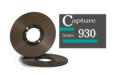 "Generic Metal 10.5/"" Reel for 1//4/"" Magnetic Recording Tape with New Storage Box"