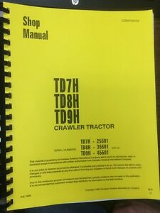 Dressta-Komatsu-Dresser-TD7H-TD8H-TD9H-Dozer-Shop-Service-Manual-High-SN