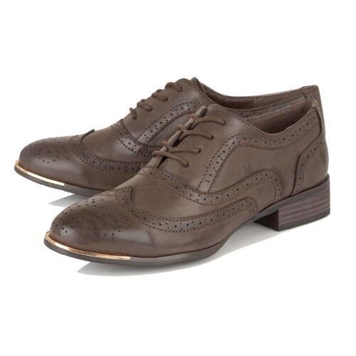 Venta ** Damas//Niñas Dolcis Brogue Escuela//Oficina Zapatos