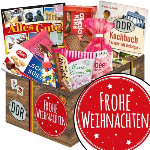 Ossi Süssigkeiten Box Weihnachtsgeschenk - Frohe Weihnachten 3052-FroheW