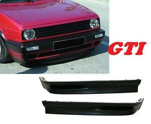 rajout de pare choc avant look gti vw golf 2 gl s gti 16s g60 1 3 1 5 1 6 ebay. Black Bedroom Furniture Sets. Home Design Ideas