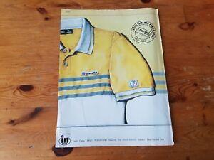 newest 8dd8c 3bd10 Dettagli su Advertising Italian Pubblicità * TENNIS * PANATTA abbigliamento  sport ( 1982 )