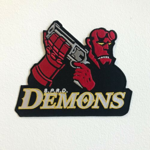 Hellboy Demons b.p.r.d Hockey Players Large Jacket Sew on Embroidered Patch
