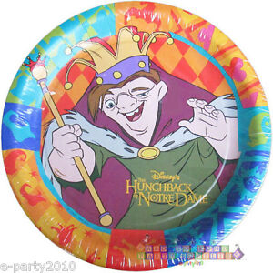 Image is loading HUNCHBACK-OF-NOTRE-DAME-SMALL-PAPER-PLATES-8-  sc 1 st  eBay & HUNCHBACK OF NOTRE DAME SMALL PAPER PLATES (8) ~ Disney Birthday ...