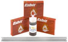 Esbit 3 Pack, Oil, Z80 Drive Belts for Wilesco Mamod Jensen Live Steam Engines
