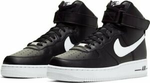 Details about Nike Air Force 1 High '07 Men's Shoes Black White 100%AUTHENTIC CK4369 001 DS AF