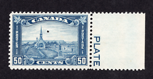Canada #176 50 Cent Dull blue Grand Pre King George V Arch Issue MNH