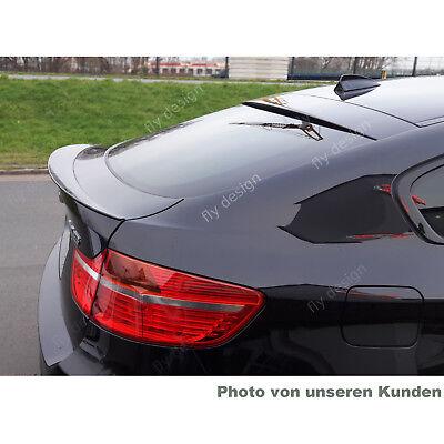 BMW X6 E71 SPOILER HECKSPOILER FLÜGEL Lippe Abrisskante * LACK SAPHIRSCHWARZ 475
