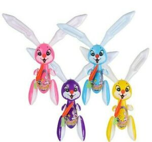 4-Pack-Set-48-034-RABBIT-INFLATE-Easter-Bunny-Inflatable-Party-Decoration-Birthdays
