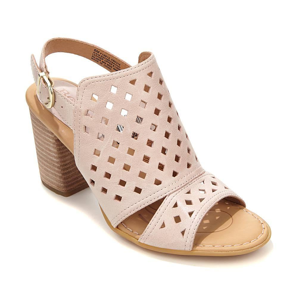 NIB Born Havana Womens Pink Shootie Bootie Cutout Sandals - Pink - Size 10
