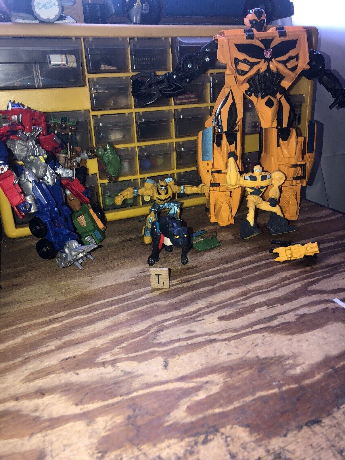 TRANSFORMERS PARTS LOT Bumblebee Optimus Prime