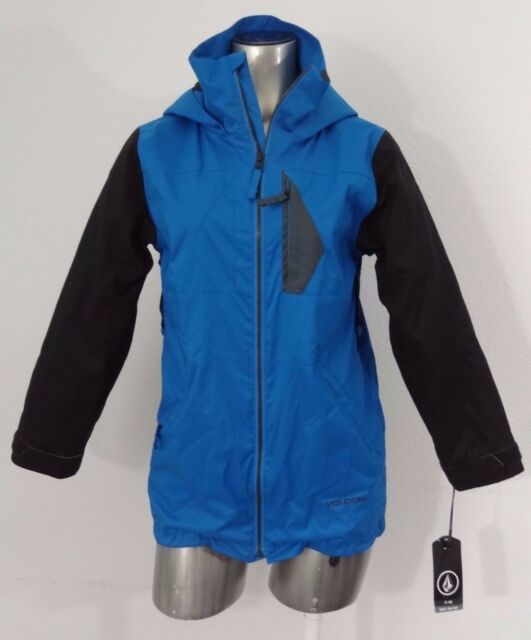 95a98b17f8d5 Volcom Watson Youth Snowboard Jacket 10k-8k Blue   Black M