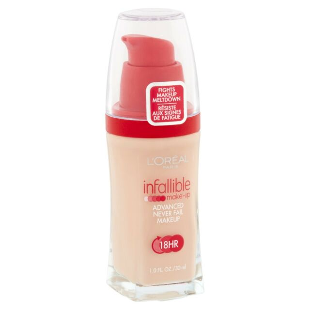 LOREAL Infallible Advanced Never Fail Makeup 18Hr NATURAL IVORY 604 foundation
