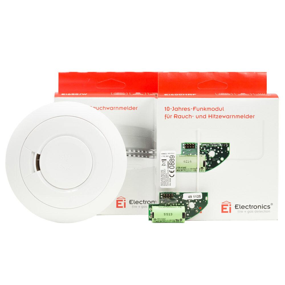 Ei Electronics Ei650iW Rauchmelder m. 10-Jahres Lithiumbatterie Funk vernetzbar