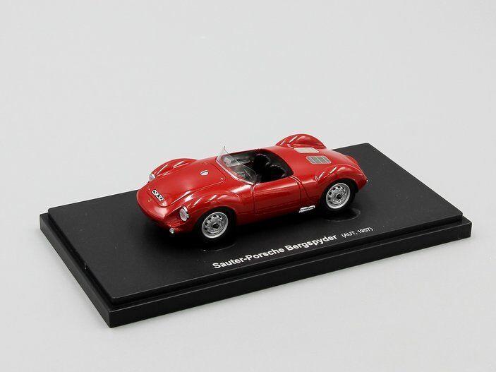 Carcult 1 43   Porsche-Sauter  Bergspyder, rot, Austria, 1957