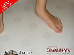anti rutsch aufkleber rund 30 mm f r wanne dusche sauna antirutsch sticker ebay. Black Bedroom Furniture Sets. Home Design Ideas