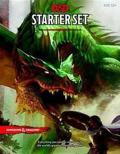 Dungeons & Dragons Fantasy Role Playing Game Starter Set 5th Edition