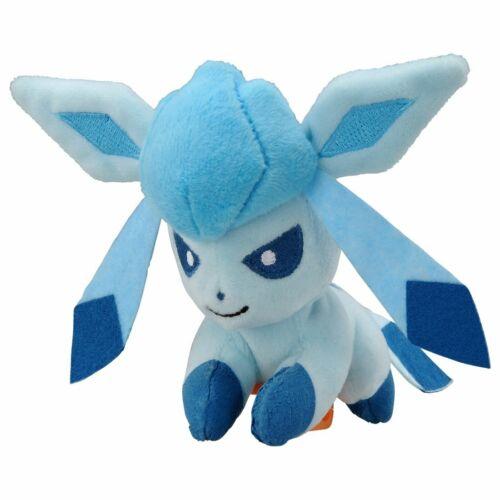 Glaceon weiches w Clip Mini Takara Tomy Pokemon Plüsch Puppe auf Schulter