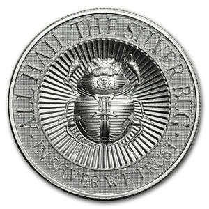 2 oz UHR Silver Round - The Silver Bug: Scarab - SKU#158586