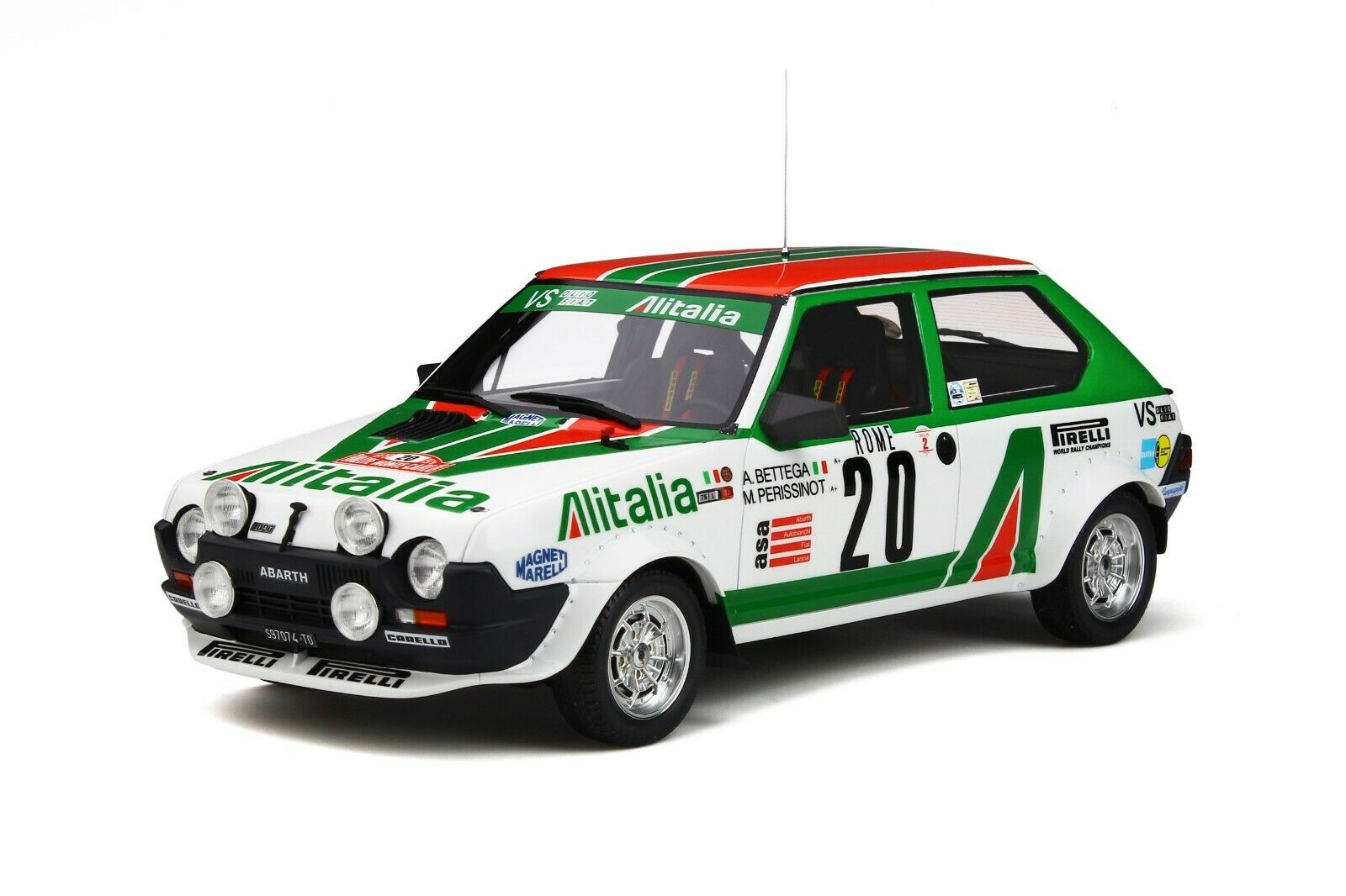 118 Otto modellos OT294 FIat Ritmo Abarth Gr.2 Bettega Rtuttiye Monte autolo 1979