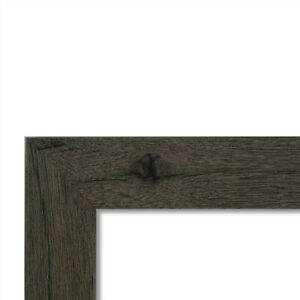 """US Art Frames 1.25"""" Flat Gray Maple MDF Wall Décor Picture Poster Frame"""