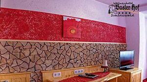 10 m² spaltholz klinker wandverkleidung wanddesign holzfliese