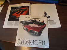 1970 Oldsmobile REVISED Full-line Sales Catalog with Cars on the Cover/Scarce!