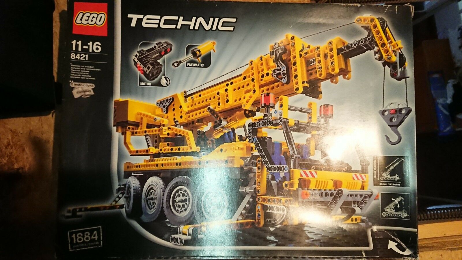 Lego Technic 8421 Motorised Mobile Crane - Boxed with Instructions 100% complete