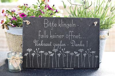 Schild « LIEBLINGSINSEL RÜGEN » Möwe Schiefer Geschenk Ostsee Deko maritim Insel