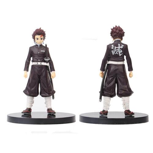 Anime Demon Slayer Kamado Tanjirou Nezuko Zenitsu PVC Action Figure Toy Kid Gift