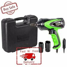 """Electric 1/2"""" Drive Impact Wrench Heavy Duty Power Kit Cord Tool Work 12V Case"""