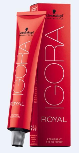 Schwarzkopf Igora Royal Haarfarbe 60ml Farben frei wählbar Auktion 2