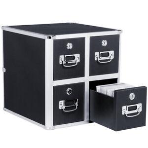 Image Is Loading Vaultz Locking Cd File Cabinet Storage Holder