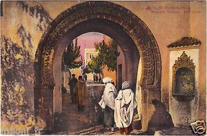 Marokko-CPA-Casablanca-Neue-Medina-H9581