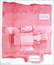 Robert RAUSCHENBERG 1972 Cardbirds Sonnabend Paris Exhibition Poster Art