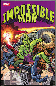 Impossible-Man-1-TPB-Marvel-2011-NM-Silver-Surfer-New-Mutants-X-Force-Cable