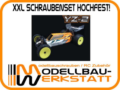 XXL Schrauben Set Stahl hochfest Yokomo YZ-2 high tensile screw kit