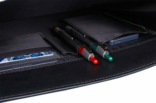 Akten Arbeits Schreib Konferenz Tasche Schwarz 36 x28x7cm Groß D /& N Bowatex