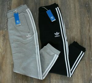 adidas fleece 3 stripe sweatpants