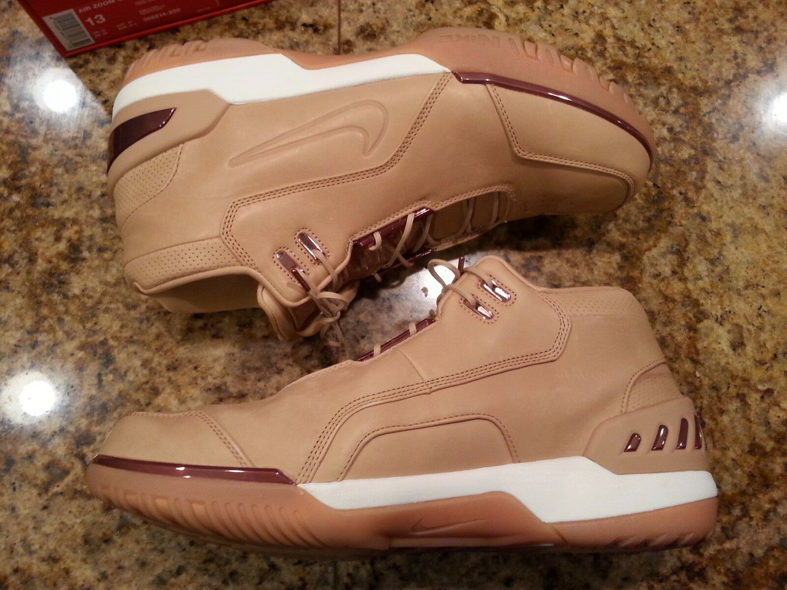 2017 nike air zoom generation qs - tan cavs vachetta größe 13.308214-200 kyrie cavs tan 0e39ad
