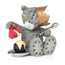 Me to You Holiday Delights Christmas Pudding Figurine Tatty Teddy Bear