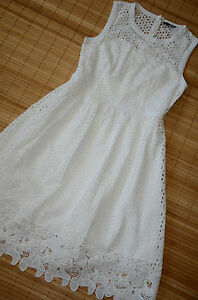 Kleid weiss 36