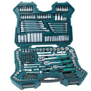 MANNESMANN-98430-Steckschluesselsatz-Werkzeugkoffer-215tlg