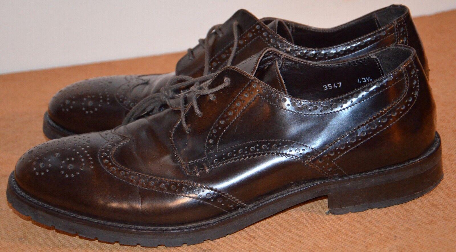 KONSTANTIN STARKE neu york Herren Schuhe Leder Anzug Gr  43,5 Made in Italy