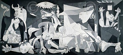1937 by Pablo Picasso Art Print Figurative Museum Poster Multi Sizes Guernica