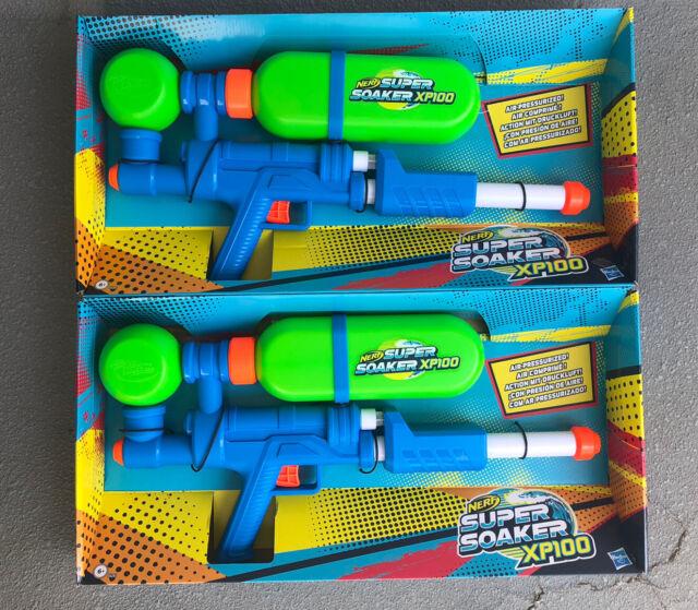 2 Super Soaker Xp 100 Water Gun Limited Edition Brand New