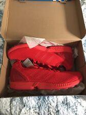 NEW * Sz 12 * Adidas Original ZX Flux PrimeKnit S81974 - TRIPLE RED