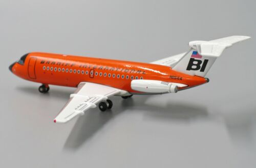 "Braniff BAC111-200 Reg:N1544  /"" Orange /"" JC Wings 1:400 Diecast Model JC4308"